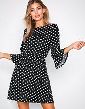 Ax Paris Black Polka Dot Mini Dress