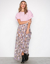 For Love & Lemons Bloom Posy Embroidery Maxi Skirt