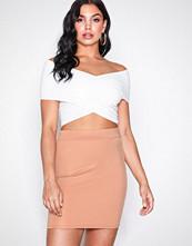 NLY One Beige Mini Base Skirt