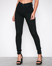 Levi's Black Mile High Super Skinny