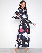 Selected Femme Lys grå Slflilla Ls Maxi Shirt Dress B