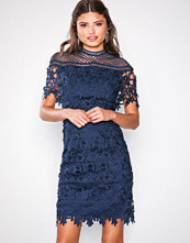 Chi Chi London Sassi Dress Navy
