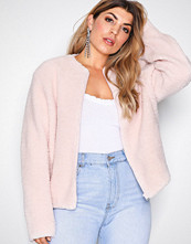 NLY Trend Rosa Simple Teddy Jacket
