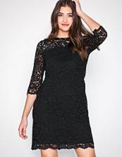 Lauren Ralph Lauren Black Paymer-3/4 Sleeve-Day Dress