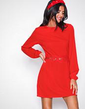 Ax Paris Red Long Sleeve Dress
