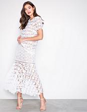 Michael Kors Floral Lace Mix Skirt