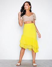 Pieces Pcnika Mw Midi Skirt Ff