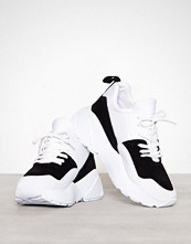 NLY Shoes Svart/Hvit From The Block Sneaker