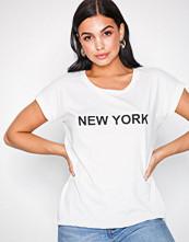 Vila Hvit Vidreamers Pure T-Shirt-Lux