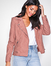 Vero Moda Rosa Vmworld Short Faux Leather Jacket C