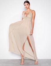 Rare London Pink Body Lace Thin Strap Dress