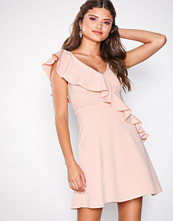 New Look Frill Trim Skater Dress