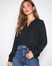 Selected Femme Svart Slfdamina Aop Ls Shirt Noos