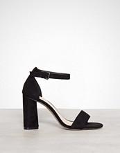 Bianco Svart High Heel Sandal