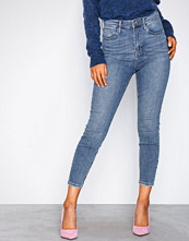 River Island Mid Blue Harper West SL Jeans