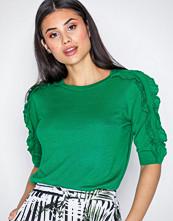 Lauren Ralph Lauren Green Natalie Elbow Sleeve Sweater