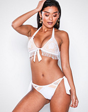 River Island White Crochet Tie Side Brief