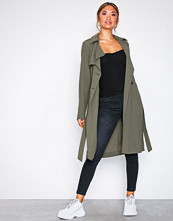 New Look Kahki Lightweight Mac Coat