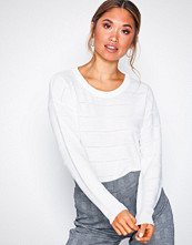 Jacqueline de Yong Hvit Jdypulli L/S Noos Pullover Knt