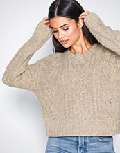 Polo Ralph Lauren Natural Crew Neck Knit Sweater
