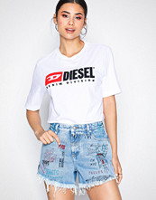 Diesel Denim blå De-Saby-00SI86 Shorts
