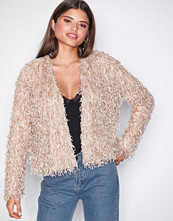 NLY Trend Rosa Feather Look Cardigan