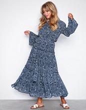 Michael Kors Navy Tiered Boho Dress