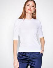 Filippa K White Cotton Stretch Elbow Sleeve