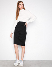 Filippa K Black High Waisted Pencil Skirt