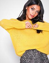 Glamorous Oversized Sleeve Jumper Yellow