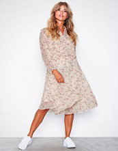 Polo Ralph Lauren Pink Ls Ema Dr-Long Sleeve-Casual Dress