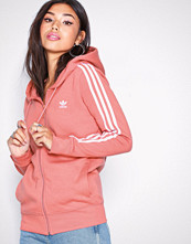 Adidas Originals Rose 3 Stripes Zip Hoodie