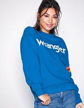 Wrangler Blue Logo Sweat