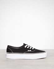Vans Svart Ua Authentic Platform