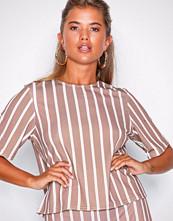 NLY Trend Stripete Stripe Crepe Top