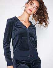 Juicy Couture Navy Velour Robertson Jacket