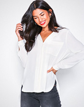 Selected Femme Offwhite Slfdynella Ls Shirt Noos
