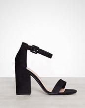 New Look Black Block Heel