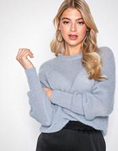 Filippa K Blue Mohair R-neck Sweater