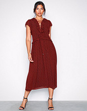 Michael Kors Lace Up Maxi Dress