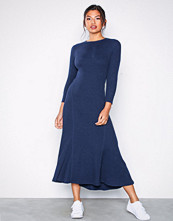 Polo Ralph Lauren Navy 3/4 Sl Dress-Long Sleeve-Casual Dress