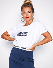 Tommy Jeans Bright White Tjw Tommy Flag Tee