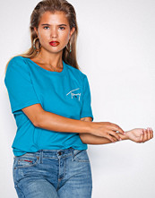 Tommy Jeans Blue TJM Tommy Signature tee