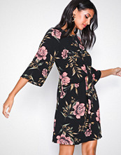 Ax Paris Black Floral Dress