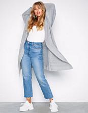 NLY Trend Lys grå Cozy Cardigan Knit