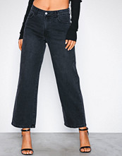 Vila Vidahla Rw Wide Cropped Denim Jeans