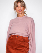 NLY Trend Light Pink Sleeve Focus Knit