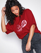 Cheap Monday Red Uni Tee Speech Logo