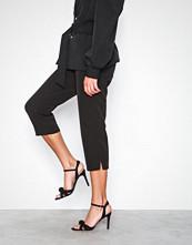 NLY Shoes Svart Multi Strap Knot Sandal