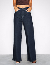 NLY Trend Rinse Wash Baggy Contrast Denim